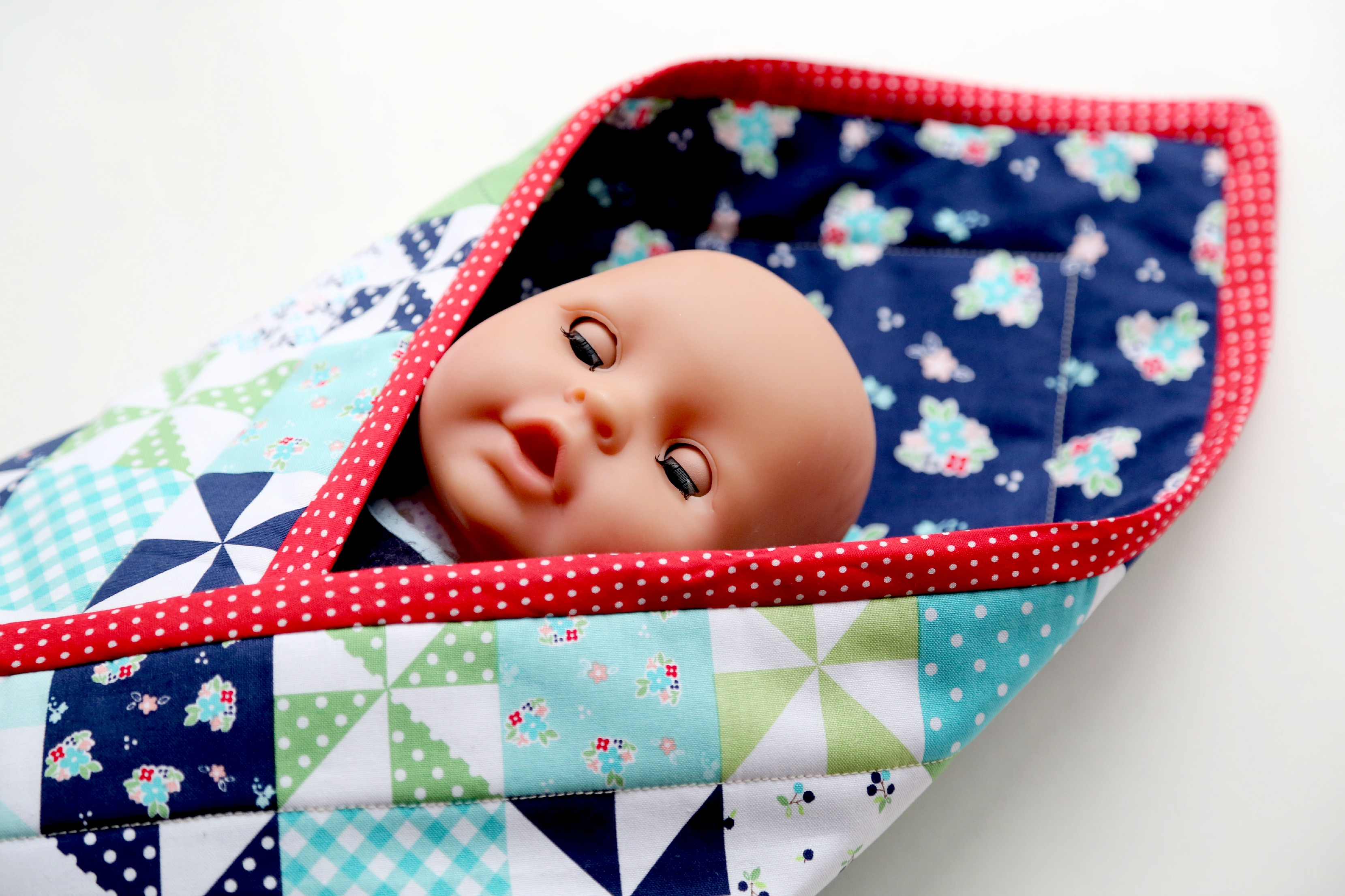 Baby Doll Pouch Blanket Tutorial The Cottage Mama