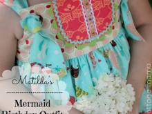 Matilda's Mermaid Birthday Outfit