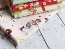 On the Cutting Table: Fabric Fun!