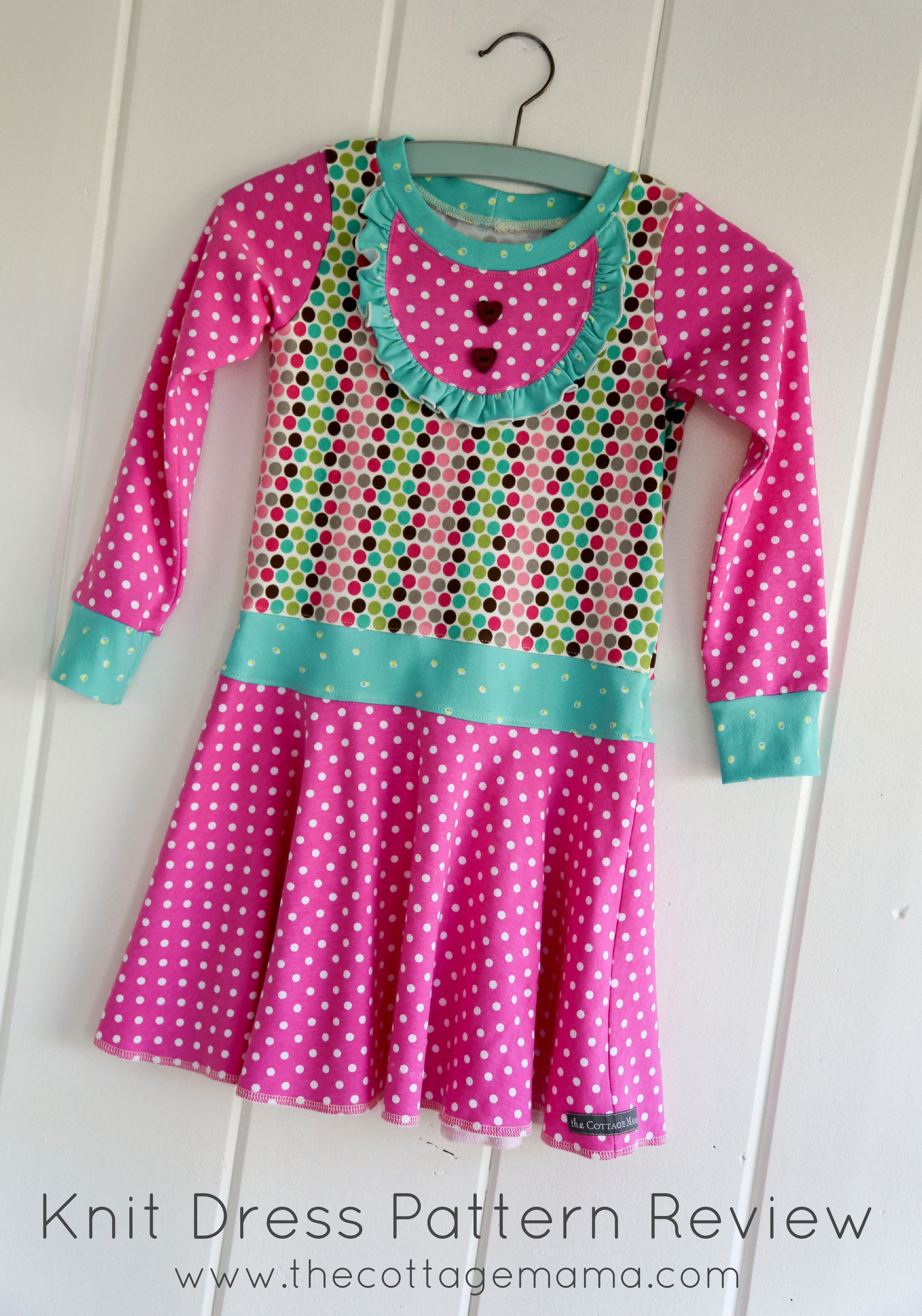 Knit Dress Pattern Review - The Cottage Mama
