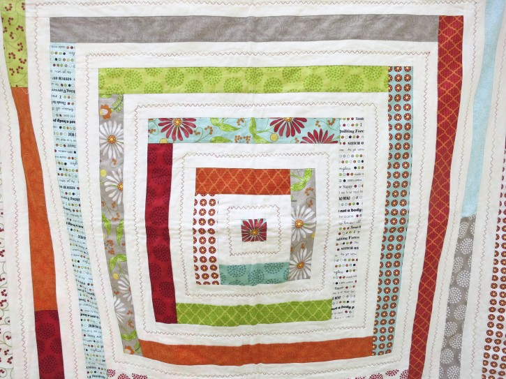 Power of Prayer Quilt by Grandma Jane for The Cottage Mama. www.thecottagemama.com
