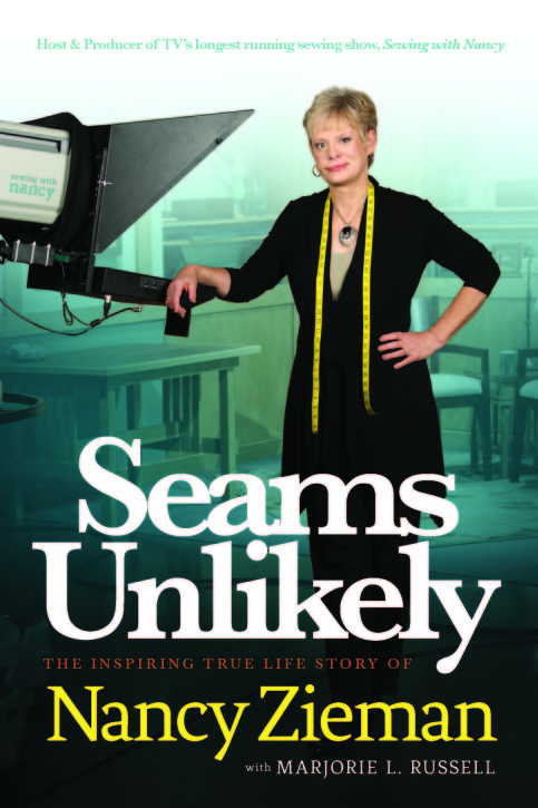 Seams Unlikely by Nancy Zieman. Review by Lindsay Wilkes from The Cottage Mama. www.thecottagemama.com