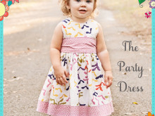 The Party Dress Free Pattern: Re-release!