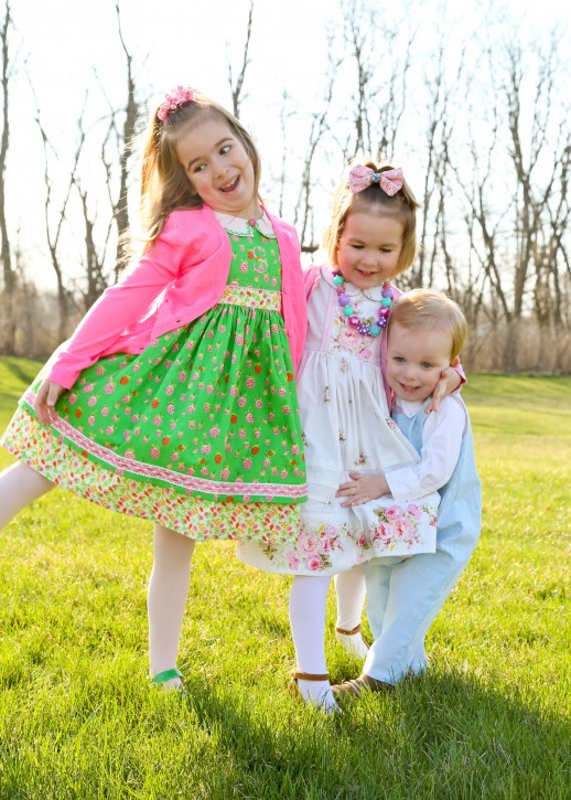 Our Easter dresses for toddlers are available in a wide range of colors and styles to please any little girl. In addition to girls Easter dresses, we also offer boys Easter clothes. Our boy's styles include shortalls, two-piece sets and smocked designs.