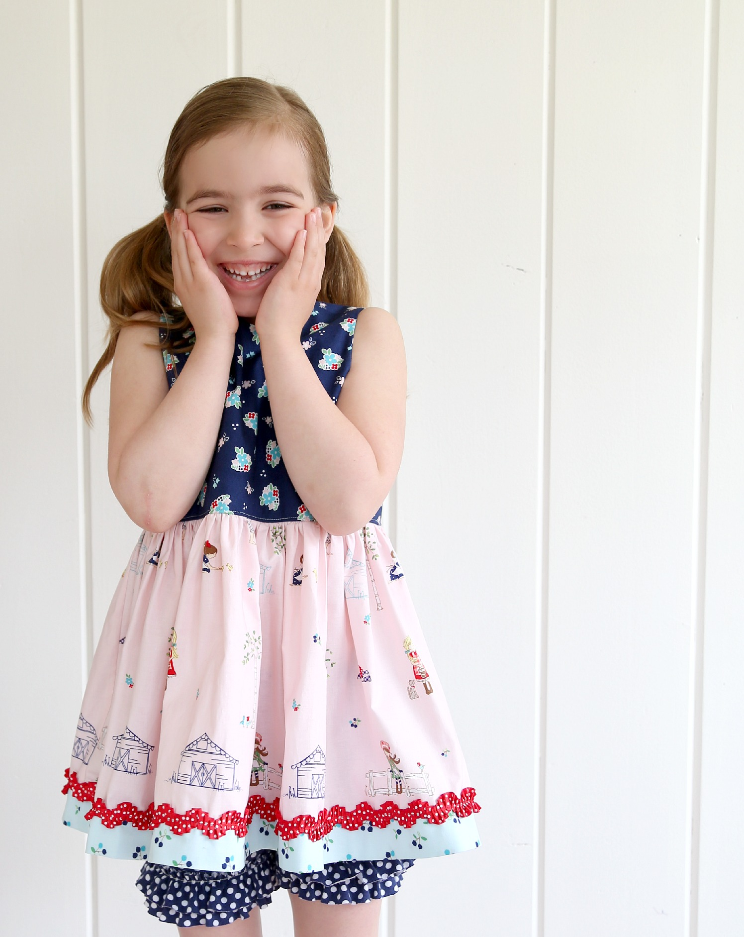 Summer Sewing for Girls - The Cottage Mama