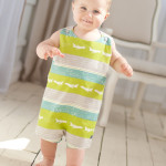 Run Around Romper Pattern from The Cottage Mama