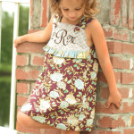 Daphne Wrap Dress and Top Pattern from The Cottage Mama