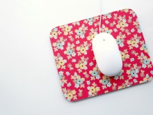 Fabric Covered Mouse Pad