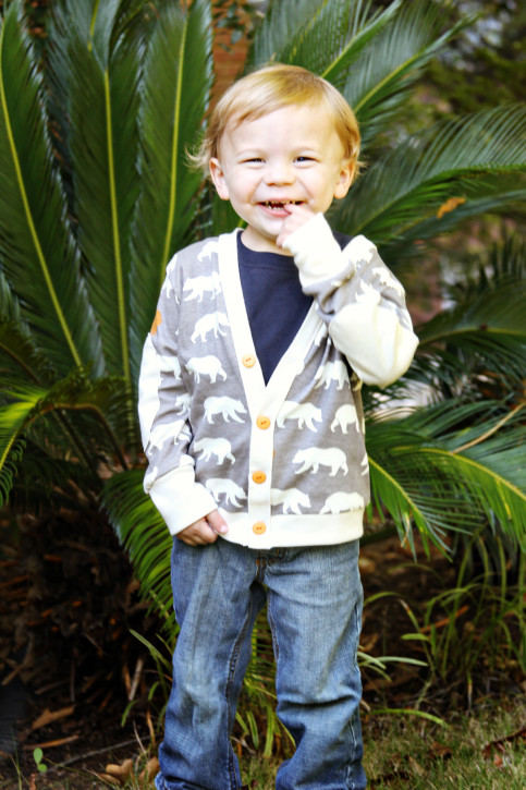 Double Dutch Cardigan Pattern for Girls and Boys from The Cottage Mama. Size 6 month - 10 years. www.thecottagemama.com