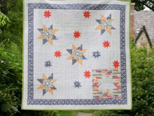 Michael Miller Fabrics Challenge Quilt