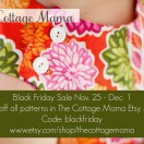 The Cottage Mama Black Friday Sale