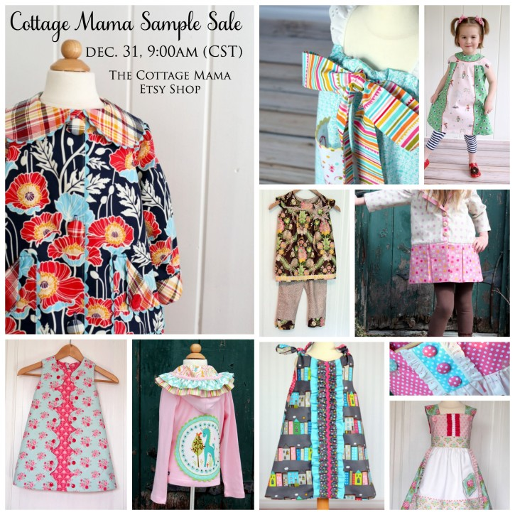The Cottage Mama Sample Sale. www.thecottagemama.com