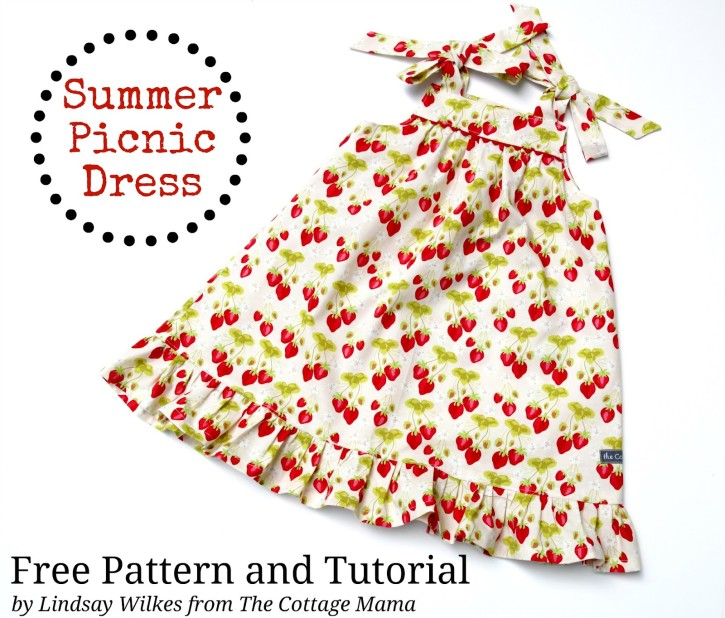 Free Dress Patterns for Girls - The Cottage Mama
