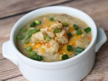 Crockpot Potato and Corn Chowder