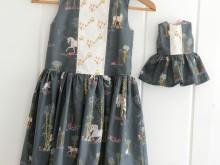 Unicorn Birthday Dress & Matching Doll Dress