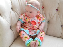 Knit Leggings and Dress for Josie