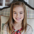 Savannah Rose turns 7 years old. www.thecottagemama.com