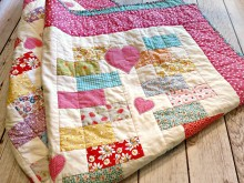 Heart Zipper Quilt