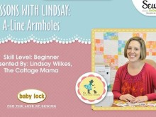Free Online Video Sewing Series: Lessons with Lindsay