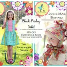 Black Friday Sale on Patterns and Book at The Cottage Mama!