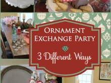 How to Host a Holiday Ornament Exchange