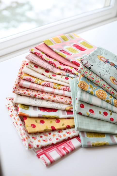 Pretty Fabrics from The Cottage Mama. www.thecottagemama.com