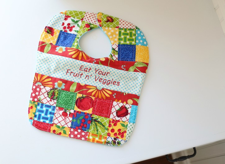 Patchwork Quilted Baby Bib Pattern Www Thecottagemama Com