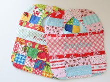 Patchwork Baby Bibs for Josephine