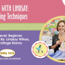Lessons with Lindsay Sewing Video. Great video for learning how to gather fabric!
