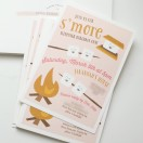 Cutest camping invitations EVER! The Cottage Mama