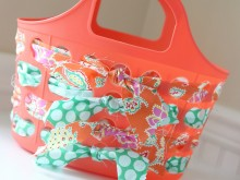 Fabric Woven Tote Tutorial