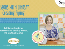 Lessons with Lindsay: How to Create and Use Piping