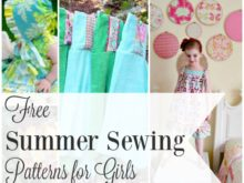 Free Summer Sewing Patterns & Tutorials