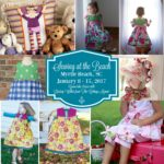 Sewing at the Beach 2017 with Lindsay Wilkes from The Cottage Mama