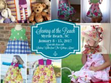Sewing at the Beach 2017