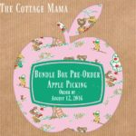 Apple Picking Bundle Box Pre-Order from The Cottage Mama. www.thecottagemama.com