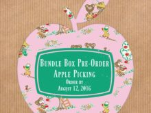 Apple Picking Bundle Box Pre-Order