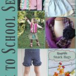 Back to School Free Sewing Projects, Tutorials and Patterns from The Cottage Mama