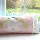 Goldie Doll Pillow by Lindsay Wilkes from The Cottage Mama. www.thecottagemama.com