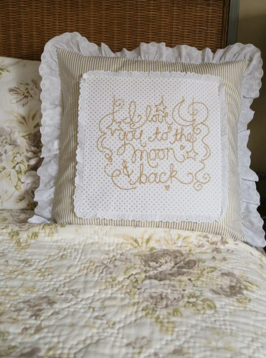 How To Make A Wedding Ring Pillow