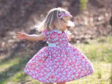 New Adelaide Bubble Romper and Dress Pattern!