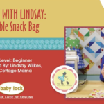 Lessons with Lindsay: Reusable Snack Bag Pattern by Lindsay Wilkes from The Cottage Mama