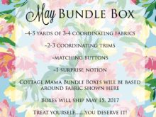 May Bundle Box ~ Now Available!