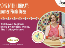 Lessons with Lindsay: Summer Picnic Dress