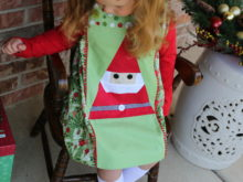 Classic Sewing Magazine – Foundation Paper Pieced Santa Dress