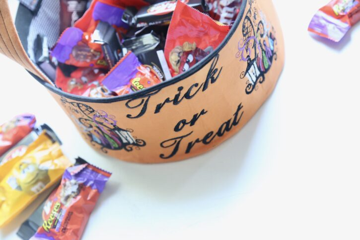 Halloween Candy Bowl Free Project Tutorial