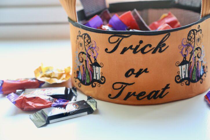 Halloween Candy Bowl Free Tutorial